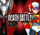 Zero (MegaMan X) vs Infinite