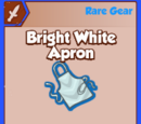Bright White Apron