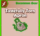 Tastefully Torn Apron