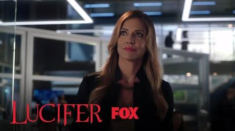 Charlotte Tells Yates Not To Bring The Security Tapes Season 3 Ep. 5 LUCIFER