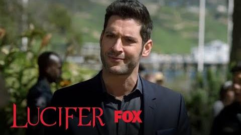 Lucifer Juggles Silicone Breast Implants Season 3 Ep. 7 LUCIFER