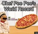 Chef Pee Pee's World Record!