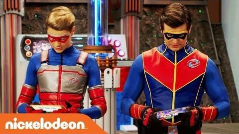 🎮 Kid Danger & Captain Man Play 'Crime Warp' 🎮 Danger Games Nov. 25 Nick
