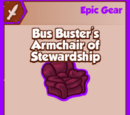 Bus Buster's Armchair of Stewardship