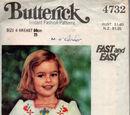 Butterick 4732 A