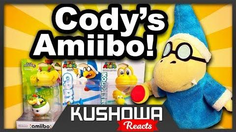 Kushowa Reacts to SML Movie: Cody's Amiibo!