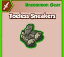 Toeless Sneakers