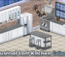 Industrial Loft Kitchen Decor Collection