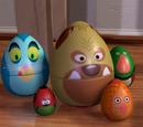 Personajes de Toy Story basados en juguetes reales