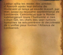L'Alliance de Lordaeron (livre)
