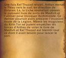 Le retour d'Archimonde et la fuite vers Kalimdor