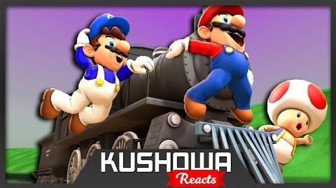 Kushowa Reacts to SMG4: Mario's Train Trip