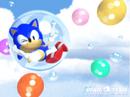 Sonic Team 3D wallpaper 1996 bubbles.png
