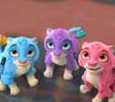 Mingo, Zoom, and Estrella