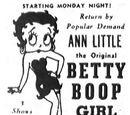 Ann Little the Original Betty Boop Girl In Person