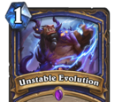 Unstable Evolution