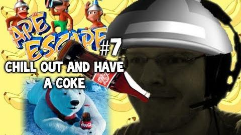 Let's Play - Ape Escape - 7 - CHILL OUT AND HAVE A COKE