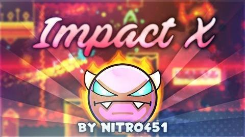 """Impact X"" DEMON by Nitro451 Geometry Dash 2.1 GuitarHeroStyles"