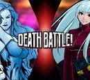 Killer Frost VS Kula Diamond (DC VS King of Fighters)
