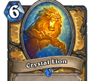 Crystal Lion