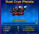 Dual Cryo Pistols
