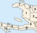 Departments of Haiti