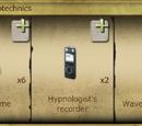 Hypnosis psychotechnics
