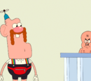 Uncle Grandpa Takes Care with Crazy Baby