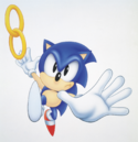 Chaotix Sonic promotional.png