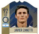 Javier Zanetti Card (Icon 92 LD)