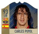 Carles Puyol Card (Icon 93 LIB)