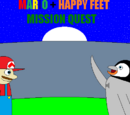 Mario + Happy Feet: Mission Quest