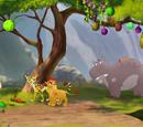 Timon and Pumbaa's Christmas/Mistakes
