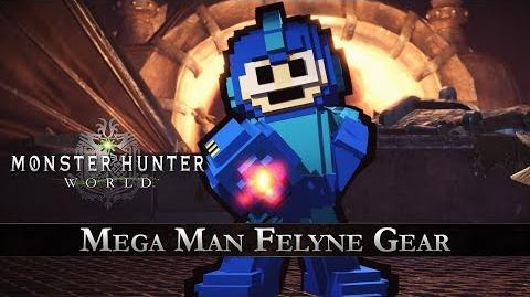 Monster Hunter World - Mega Man Collaboration Gear