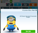 Mel's I-Love-Gru Hat Costume