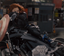 Motocicleta de Black Widow