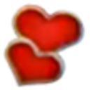 Alice in Wonderland Emoticons redhearts.png