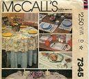 McCall's 7345 A