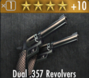Dual .357 Revolvers