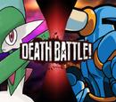 Shovel Knight vs Gallade
