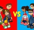 PCF Steve4/Sneak Peek: Red Team vs Blue Team!