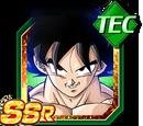 Esprit combatif calme - Son Goku