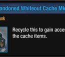 Abandoned Whiteout Cache