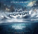Aerys III Targaryen/For Honor albergará un evento de invierno llamado Frost Wind Festival