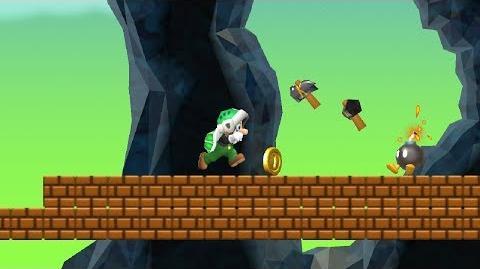 Newer Super Mario Bros. Wii - Bombard Cliffs (Complete World E)