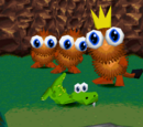 Characters in Croc: Legend of the Gobbos