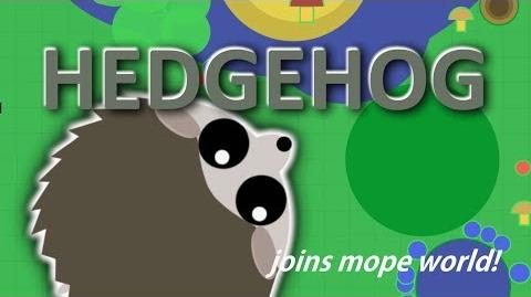 MOPE.IO HEDGEHOG JOINS MOPE WORLD NEW ANIMAL TEASER 5