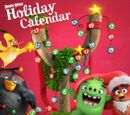 Angry Birds Holiday Calendar