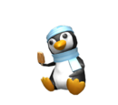 Penguin Shoulder Friend