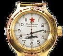 Командирские часы Золото